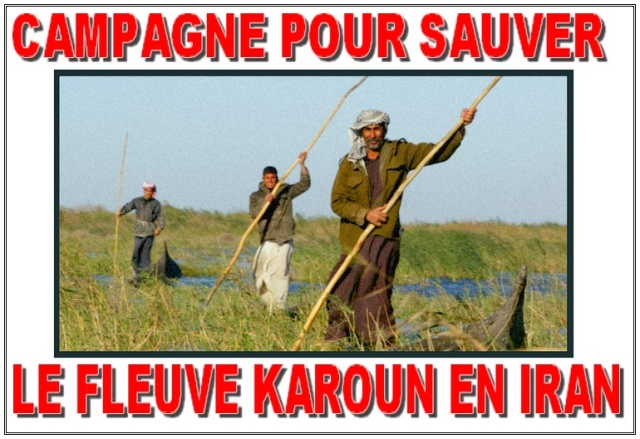 SaveKarounRiver