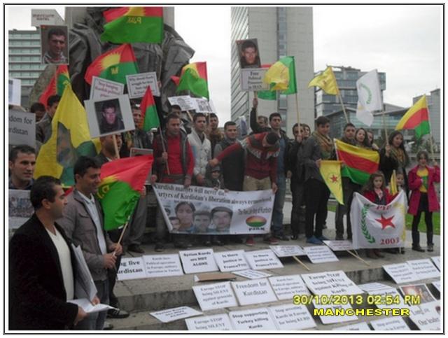 Kurds-protestation-iran-manchester