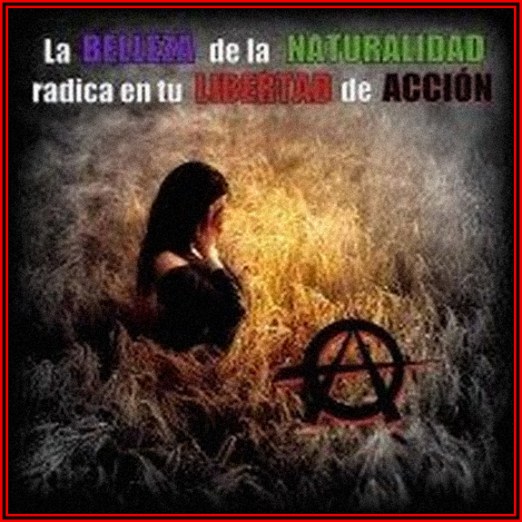 Iranian woman anarchis